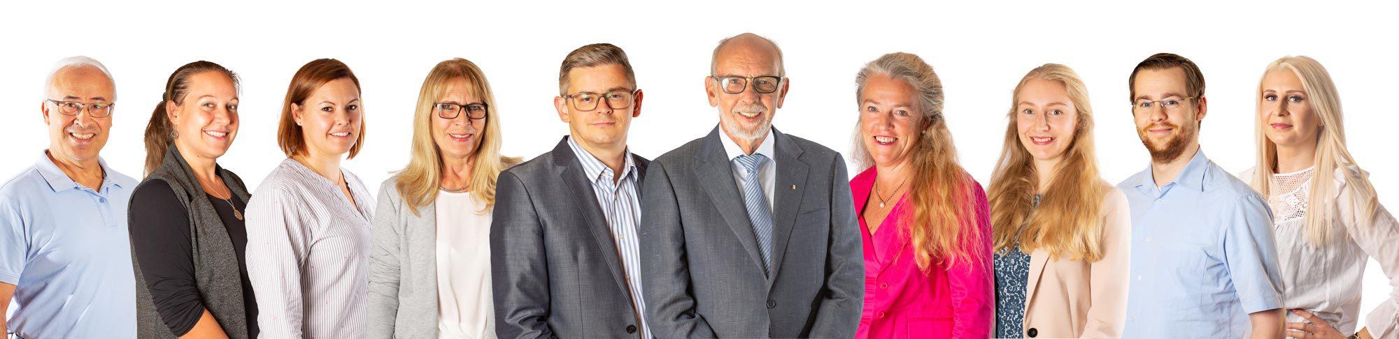 Team der Kanzlei Detlev Schneider