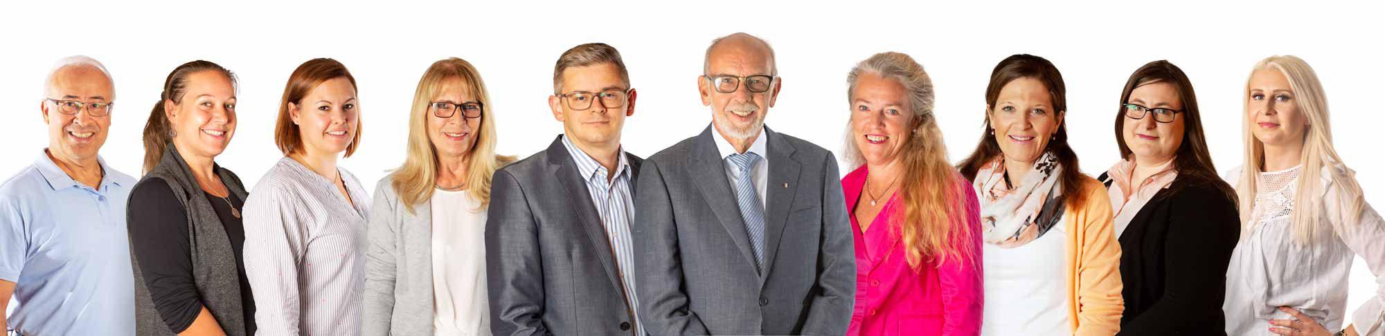 Team der Kanzlei Detlev Schneider in Köln